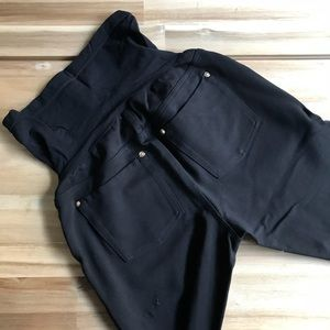 A Pea in the Pod Pants - Black Skinny Maternity Pant with Secret Fit Belly